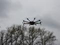 Dron za letu