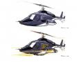 Studie vrtulníku Airwolf