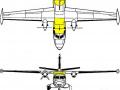 Vizualizace Let L-410XXL Turbolet