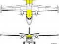 Vizualizace Let L-410XXL R Turbolet