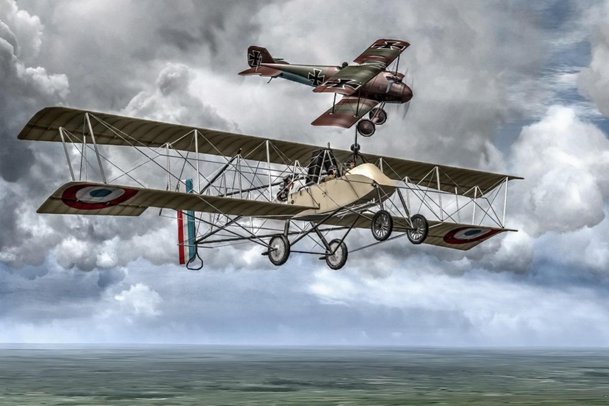 První vzdušné vítězství